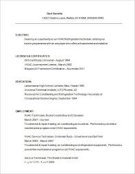 18 Hvac Technician Resume Sample