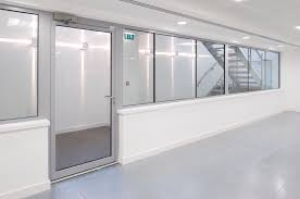 Office glass door glazed Frosted Office Glass Door Glazed Fire Smoke Resistant Door Office Glass Door Glazed Internal Glazed Partitions Office