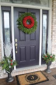 house front doorDecoration  Modern Door Design Front Door Christmas Decorations