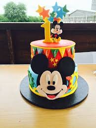 44 Unique Mickey Mouse 1st Bday Cake Gallery The Best Cake