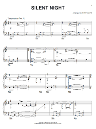 sheet music silent night silent night sheet music direct