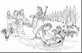 Small Picture Baby Moses Coloring Page Jacb Me New Pages zimeonme