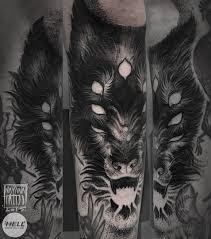 Tetování Vlk Na Předloktí