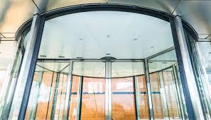 access controldoors rotating glass door