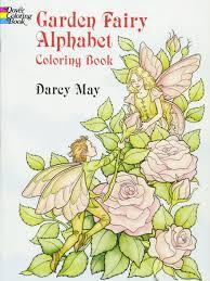 garden fairy alphabet coloring book darcy may 9780486290249 amazon books