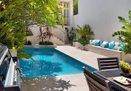 Swimming Pool Landscape Design Small House Designs Pool ...