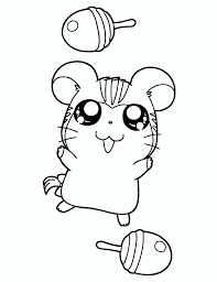 Coloring Page Hamtaro Coloring Pages 22