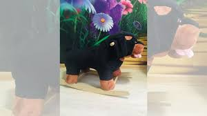 """<b>Качалка мягкая игрушка Тутси</b> """"<b>Собака</b> - <b>Ротвейлер</b>"""" купить в ..."""