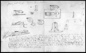 drawing by alexander graham bell library of  drawing by alexander graham bell 21 1879 library of congress