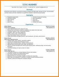House Cleaner Resume Example House Best Resume And Cover Letter