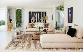 architectural digest furniture. Architectural Digest Living Room Large Rug Furniture