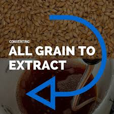 Dme To Grain Conversion Chart Converting All Grain Recipes To Malt Extract
