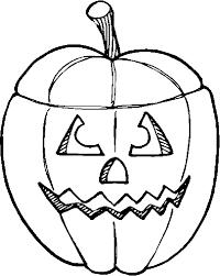 Kleurplaat Kleurplaat Halloween Pompoenen 22 9679 Kleurplaten