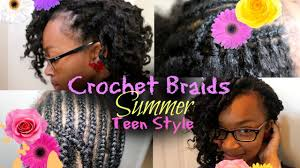 Crowshade Hair Style how to crochet braid for teen hairstyle youtube 8895 by wearticles.com