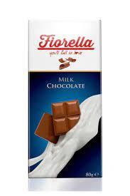 FIORELLA Sütlü Çikolata Tablet 80 gr 10'lu 1 Kutu Fiyatı, Yorumları -  TRENDYOL