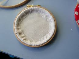 how to make an embroidery hoop frame how to frame your embroidery in a hoop