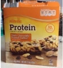 millville protein chewy bars dark chocolate peanut er 180 calories
