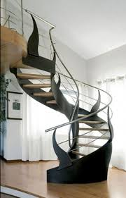 Awesome Spiral Staircase For Home Interior Decoration : Cool Ideas For Home  Interior Decoration Using Indoor