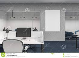 office cubicle walls. Concrete And White Office Cubicles, Poster Cubicle Walls