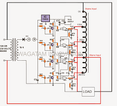 ac automatic voltage regulator circuit diagram info ac automatic voltage regulator circuit diagram the wiring diagram wiring circuit