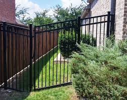 wrought iron privacy fence. Brilliant Wrought Elegant Black Wrought Iron Fence 15 Steel Fences Metal Fencing  Office  Excellent  And Privacy