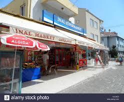 Lokale Türkische Supermarkt Shop Marmaris Provinz Mugla
