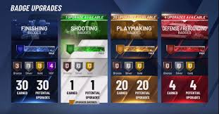 Nba 2k20 All In One Complete Badges Guide Nba 2kw Nba