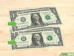 3 ways to check if a 1 dollar bill is