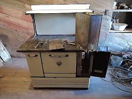 antique montgomery ward wood burning kitchen cook stove 3