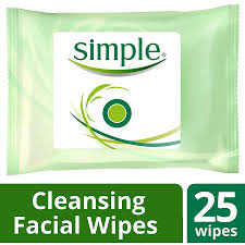 simple wipes cleansing25ea