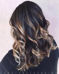 Black Hair With Blonde Highlights For