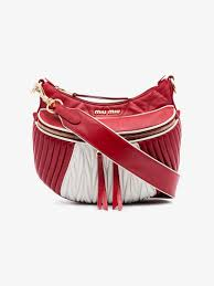 Miu Miu Red White Quilted leather shoulder bag | Shoulder Bags ... & Miu Miu Red White Quilted leather shoulder bag Adamdwight.com