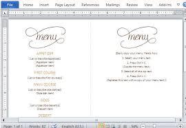 free word menu template word menu template rome fontanacountryinn com