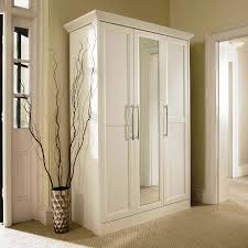 mirrored wardrobe closets white wood