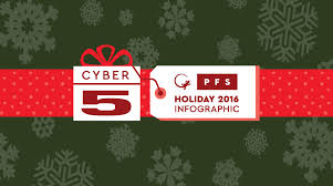 seasonal jobs hiring to deliver a best in class experience pfs blog cyber monday and cyber five 2016 holiday infographic