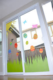 Window Decoration Tutorial Tissue Paper Window Art Creative Juice