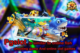 Pgslot is similar to online fish shooting game. And online slot games -