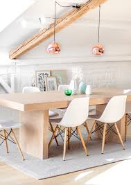 TOM DIXON'S COPPER PENDANT: this painted white interior design has #rustic  charm with a
