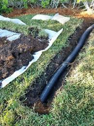underground gutter drainage. Gutter Underground Drains Basin Water Abatement Kit Home Garden In Port St Fl . Rain Drain Drainage U