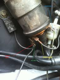 74 vw beetle ignition coil wiring