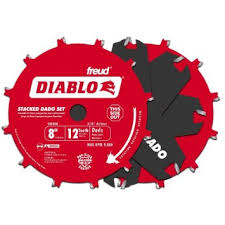 dado blade lowes. get quotations · diablo 8 in. x 12 tooth carbide stacked dado saw blade set lowes ,