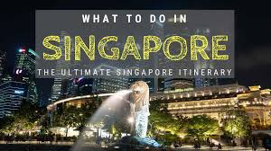 Another Word For Itinerary Is What To Do In Singapore A 3 Day Singapore Itinerary
