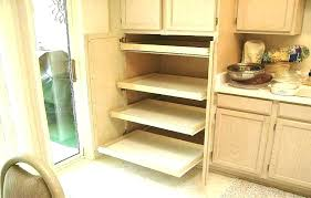 pull out cabinet organizers pull out cupboard shelves sliding pantry slide organizers kitchen cabinets roll benefits