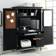 desks white desk armoire computer home ideas new office