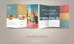 Avery Tri Fold Brochure Templates Avery Tri Fold Brochure Template Africanrecipes Info