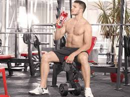when to drink protein shakes before