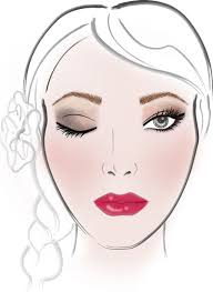 Bridal Face Chart Pure Bliss Bridal Beauty House Tartes Mega Collection Of