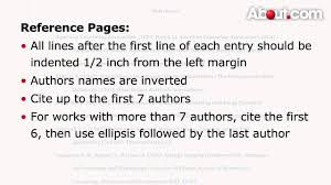 How To Make Reference Pages In Apa Format Citation Guide