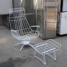Fabulous Vintage Metal Outdoor Furniture Patio Home  Odelia Design a
