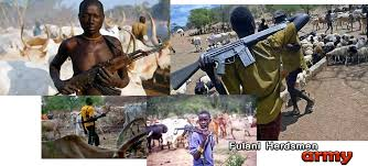 Image result for fulani herdsmen carrying ak 47